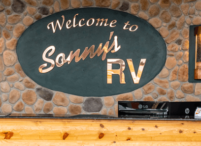 Sonny's RVs storefront sign